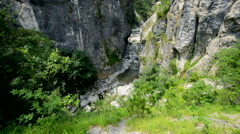 Parco Nazionale Dolomiti Bellunesi Stock Footage