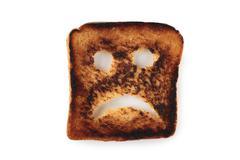Sad toast Stock Photos