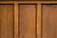 Ottoman Style Wooden House Door - stock photo