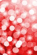 Red defocused lights useful as a background. Good for website designs or textur Stock Photos