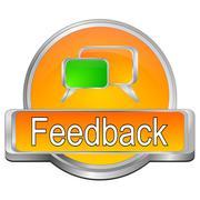 Feedback button Stock Photos