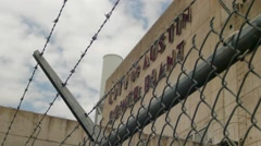 Old Power Plant Stock Footage