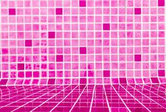 Tile texture flooring a popular bathrooms Stock Photos
