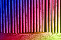 Abstract background, Light the torch into the corridor walls with beautiful colo - stock illustration