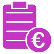 Agreement icon - stock illustration