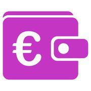 Purse icon - stock illustration