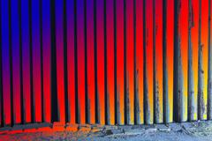 Abstract background, Light the torch into the corridor walls with beautiful colo Stock Illustration