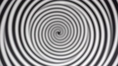 Blurred spiraling background to make you dizzy and confused 4k - stock footage