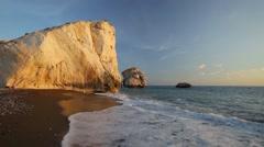 Petra tou Romiou, Cyprus Stock Footage