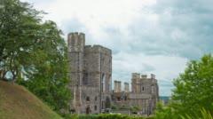 Windsor Castle, UK Stock Footage