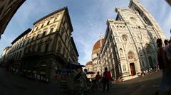 Duomo Santa Maria Del Fiore - stock footage