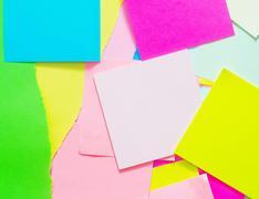 Color sheets Stock Photos