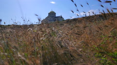Cathedral of St. Vladimir's in Tauric Chersonesos. Stock Footage