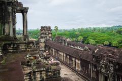 Angkor Wat Temple, Siem reap, Cambodia. - stock photo