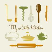 Kitchen Utensil Stock Illustration