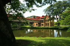 Sanam Chandra Palace, Thailand Stock Photos