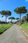 On the Appian Way Stock Photos