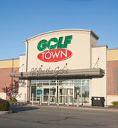 Golf Town Outlet Stock Photos