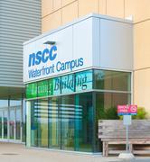 Nova Scotia Community College Entrance - stock photo