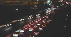 Apocalyptic Highway - stock footage