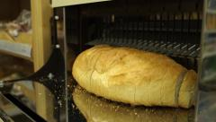 Bread slicer VEHICLE Stock Footage