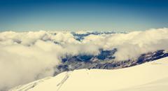 Mountain view. Stock Photos