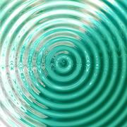 Abstract Waves of Water Ripples Background Stock Illustration