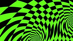 Abstract Motion Art Green Background VJ HD loop - stock footage