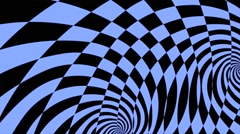 Stock Video Footage of Abstract Motion Art Blue Background VJ HD loop