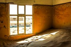 Kolmanskop Ghost Town - stock photo
