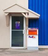 FedEx Drop Box Stock Photos