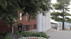 Pate Chapel on Liberty University's campus Stock Footage