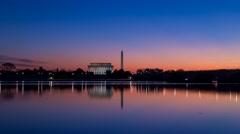 Monument sunrise 4K Stock Footage