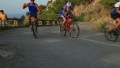 Mountainbiker 2 Stock Footage