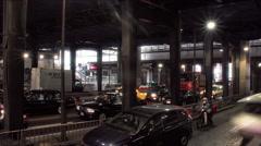 Shibuya underpass timelapse Stock Footage