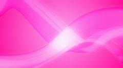 Pink curvy tape Stock Footage