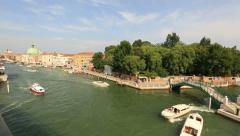 Stock Video Footage of Traffic on the Grand Canal (Canale Grande)