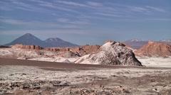 Montain in Atacama desert - stock footage