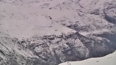 A close vision of Andes montain - stock footage