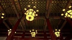 Beijing,Tiananmen,Palace lantern Stock Footage