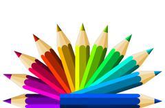 Crayons Stock Illustration