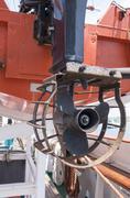 Screw motor boat Kuvituskuvat