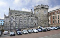Stock Photo of Chapel Royal and Record Tower in Dublin Castle