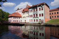 River View of Bydgoszcz in Poland Stock Photos