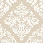 Seamless Orient  Background - stock illustration