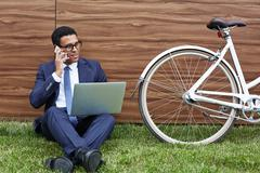 Outdoor mobility - stock photo