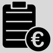 Agreement icon - stock illustration