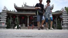 Nan Putuo Temple in Xiamen Stock Footage
