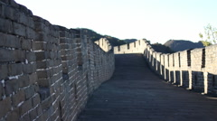 Great Wall of China, stonework, Beijing Stock Footage