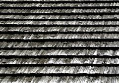 Stock Photo of wood shingle